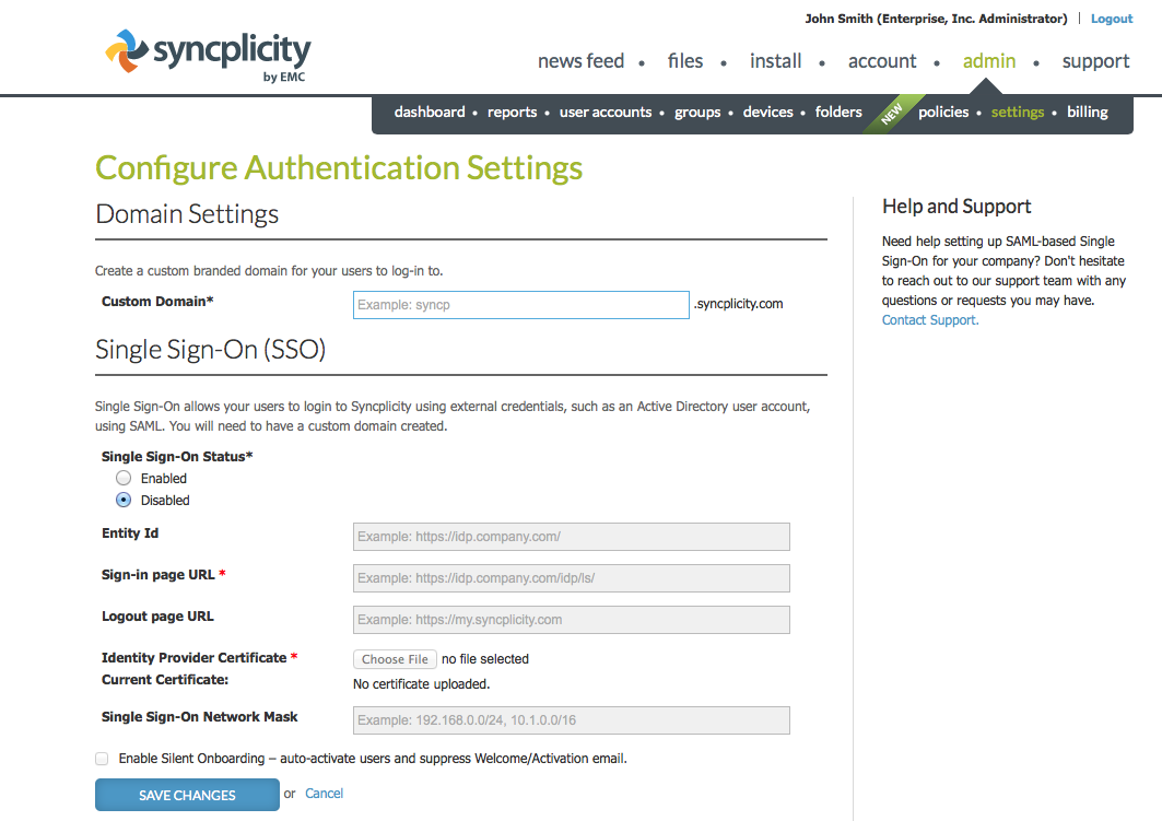 Unable to login with Single-Sign-On (SSO) - Authentication stops working